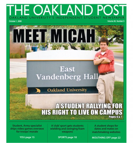 Meet Micah - Oakland Post