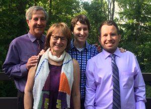 Richard, Janice, Emma, and Micah